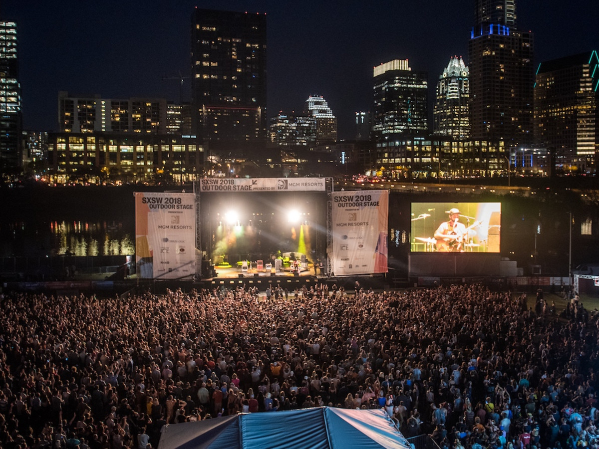 SXSW Outdoor Stage Lady Bird Lake Auditorium Shores