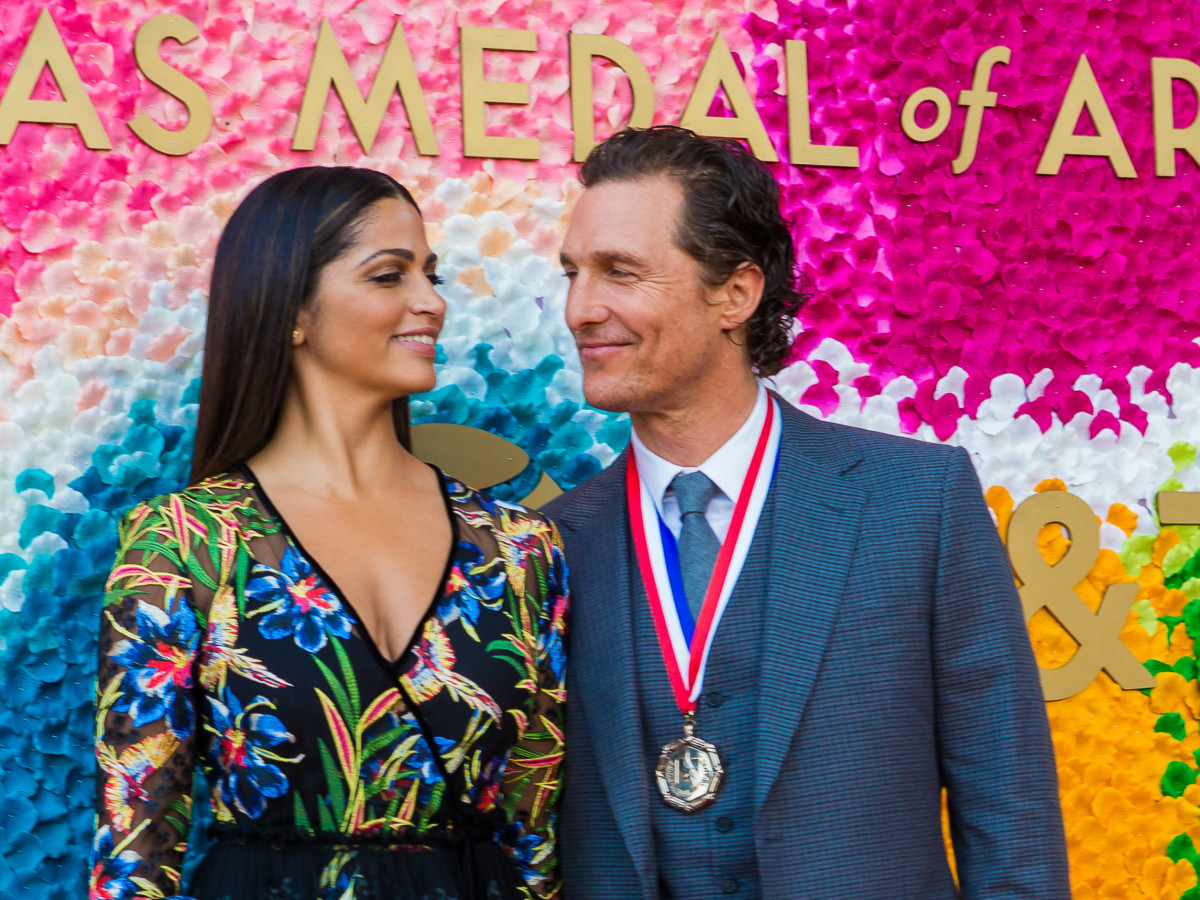Matthew McConaughey Camila Alves McConaughey