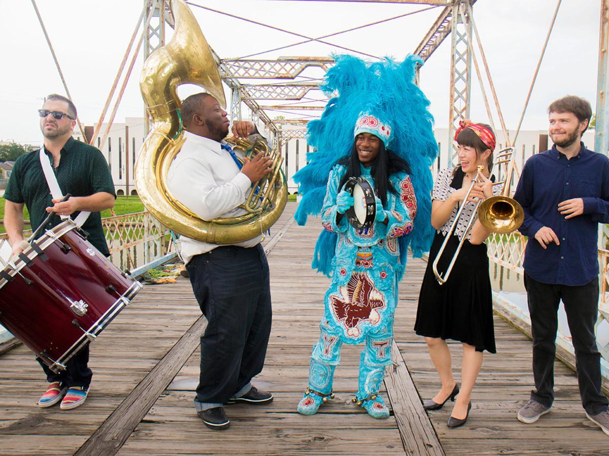 Cha Wa band New Orleans