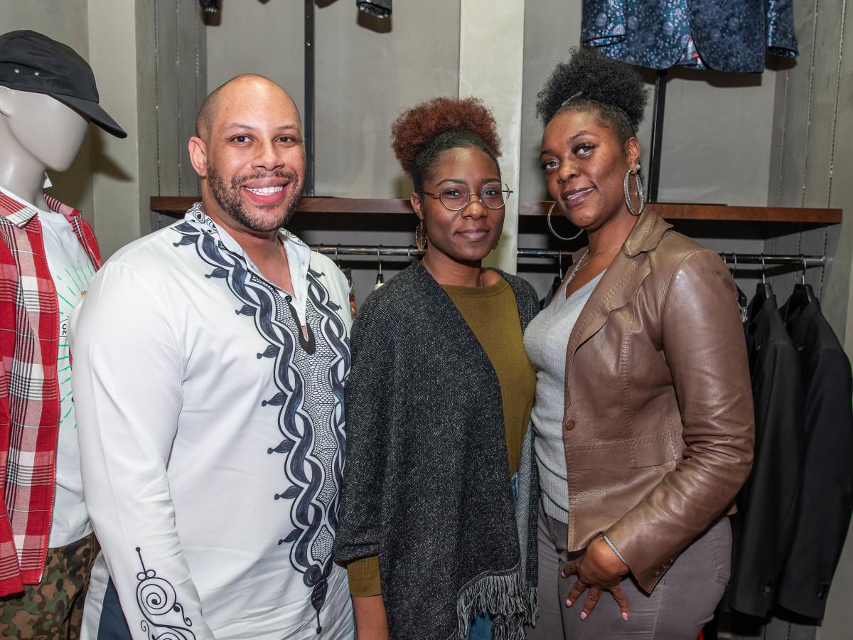 Chris Baker, Tiana Collins, Twana Collins