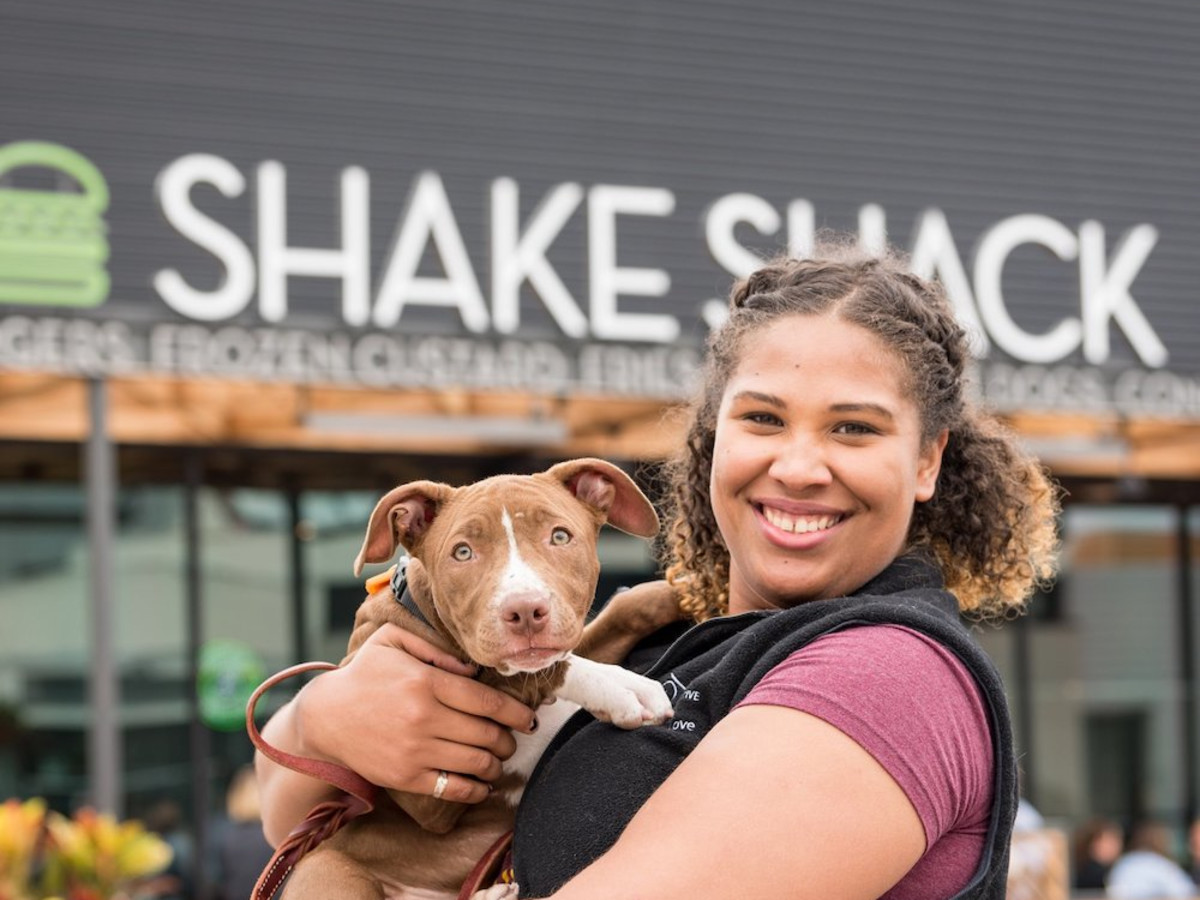 Houston Pets Alive Shake Shack Tuesday Fundraisers