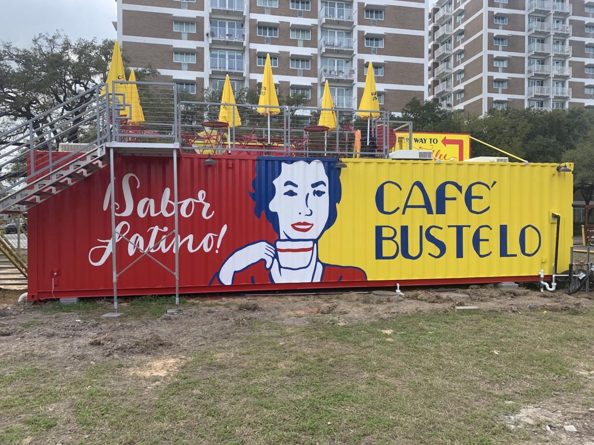 Cafe Bustelo back