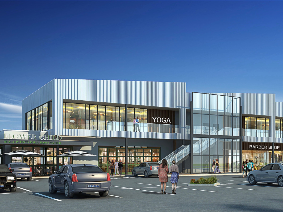 Market at Houston Heights Flower Child rendering