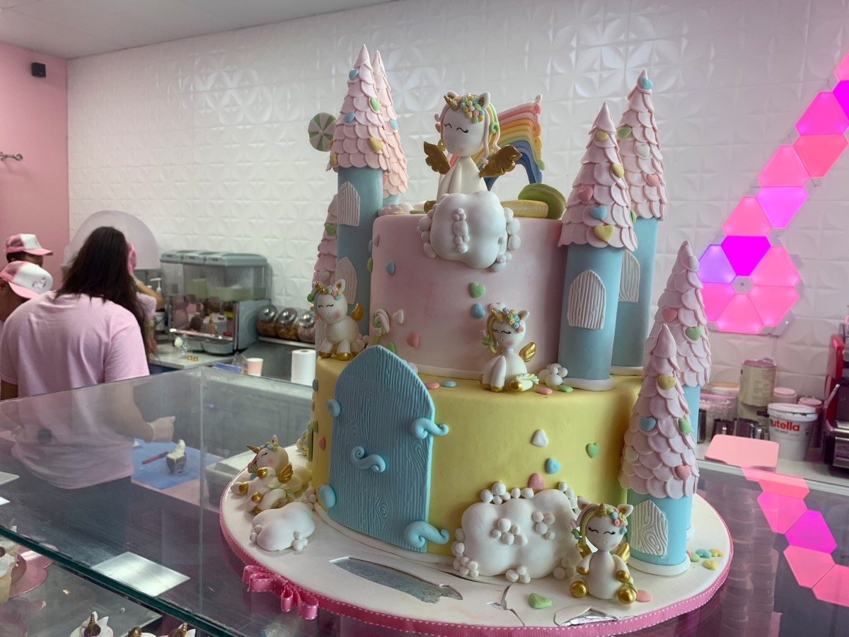 Magical Unicorn Dessert Bar