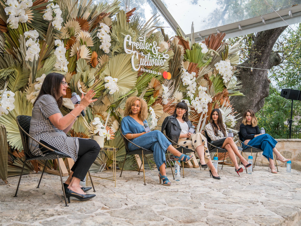 Create and Cultivate Austin SXSW 2019 at the Allan House Ginger Seigel Morgan Debaun Sonja Rasula Payal Kadakia Jaclyn Johnson