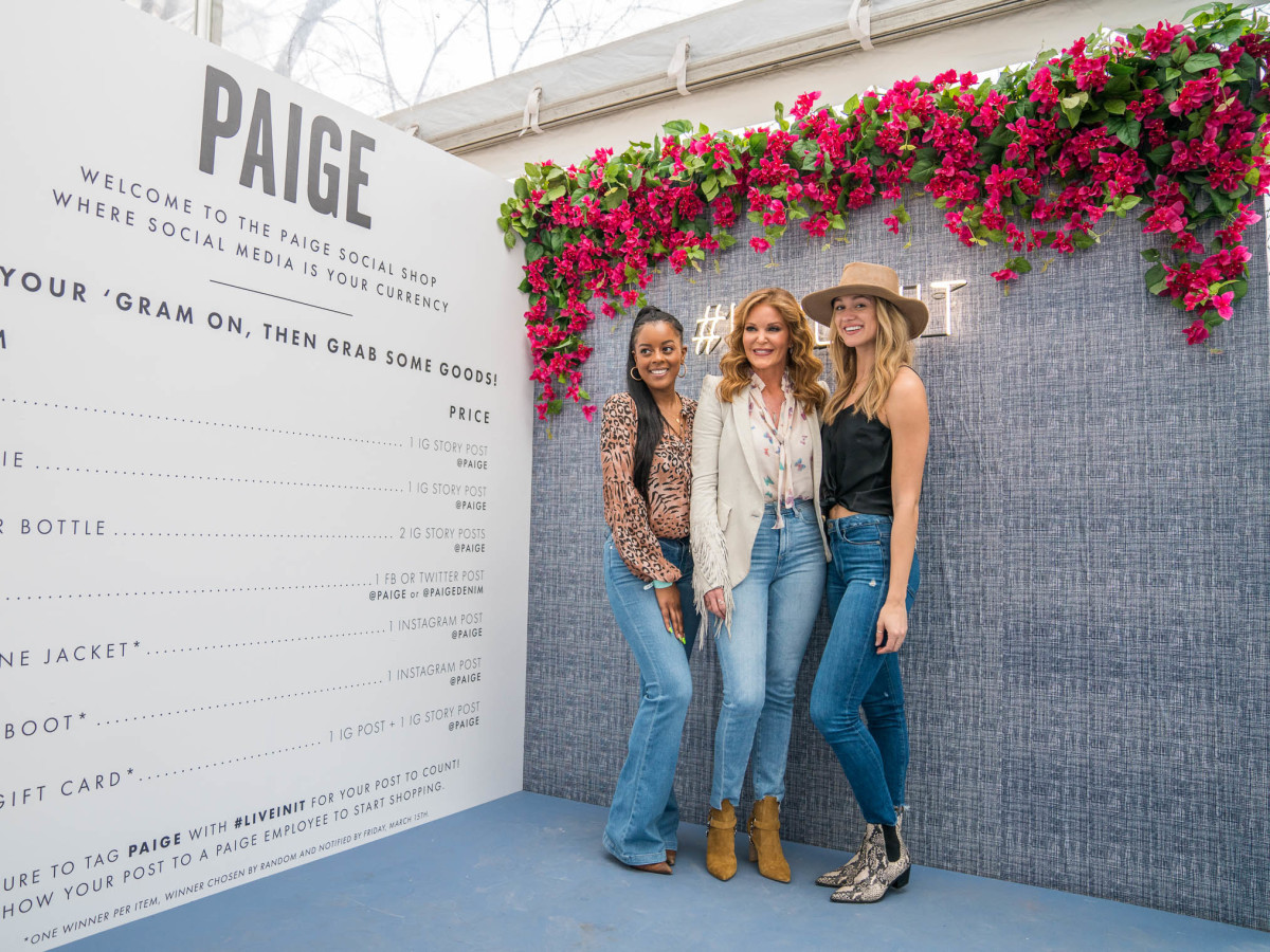 Create and Cultivate Austin SXSW 2019 at the Allan House Paige Adams-Geller Paige Denim