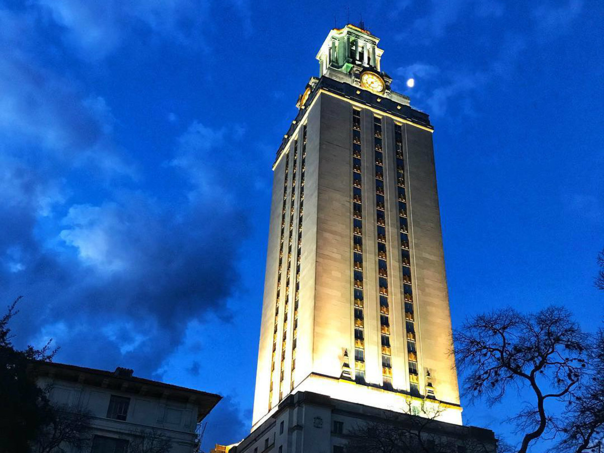 University of Texas UT Tower campus