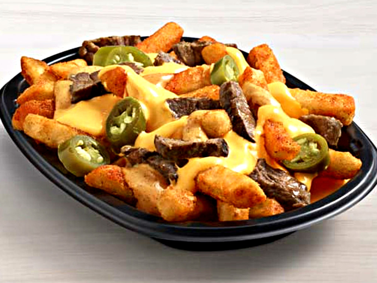 Drive-Thru Gourmet - Taco Bell Steak Rattlesnake Fries