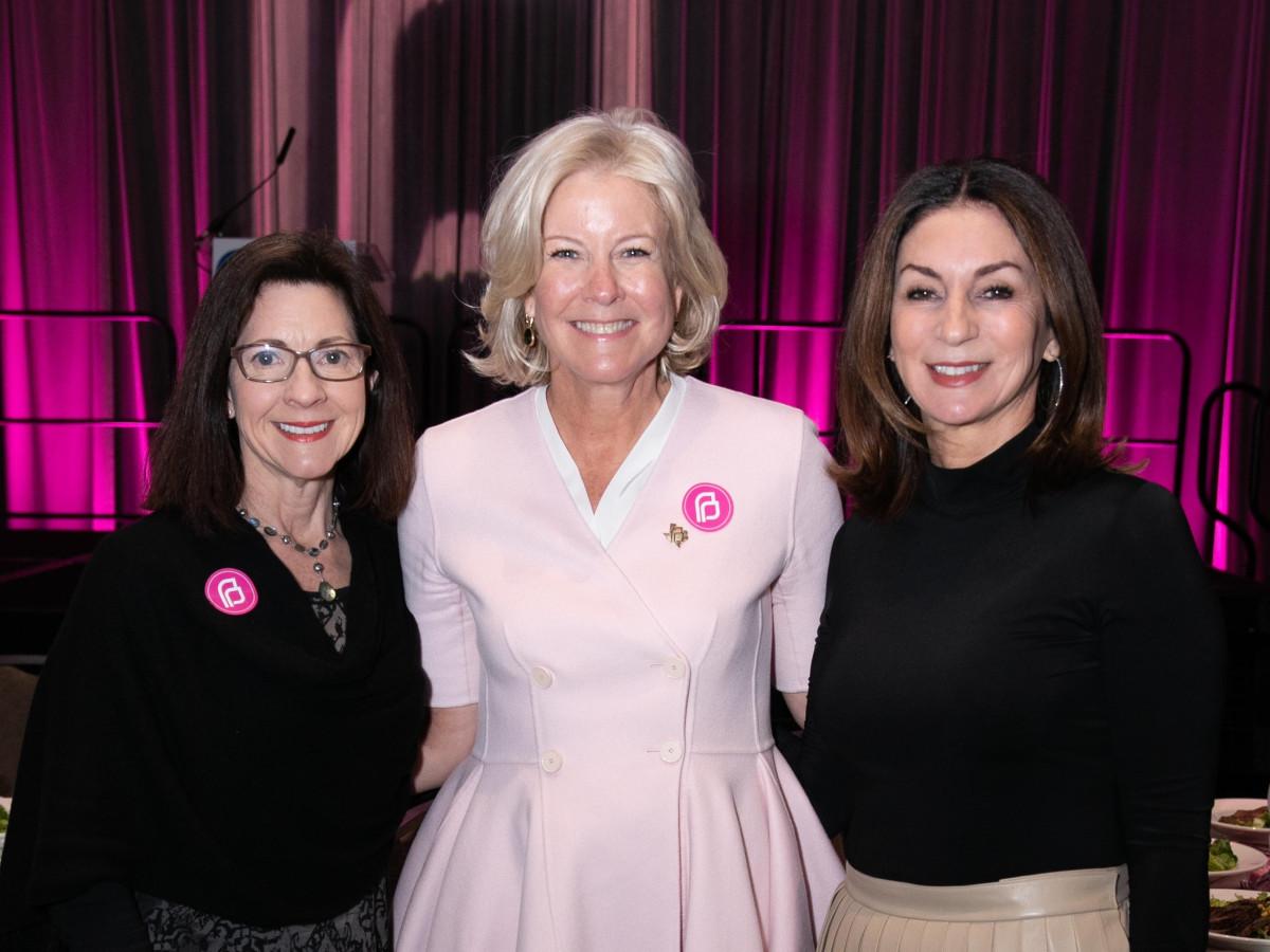 Laraine Dupuy, Ann Hobson, Debbie Barnes