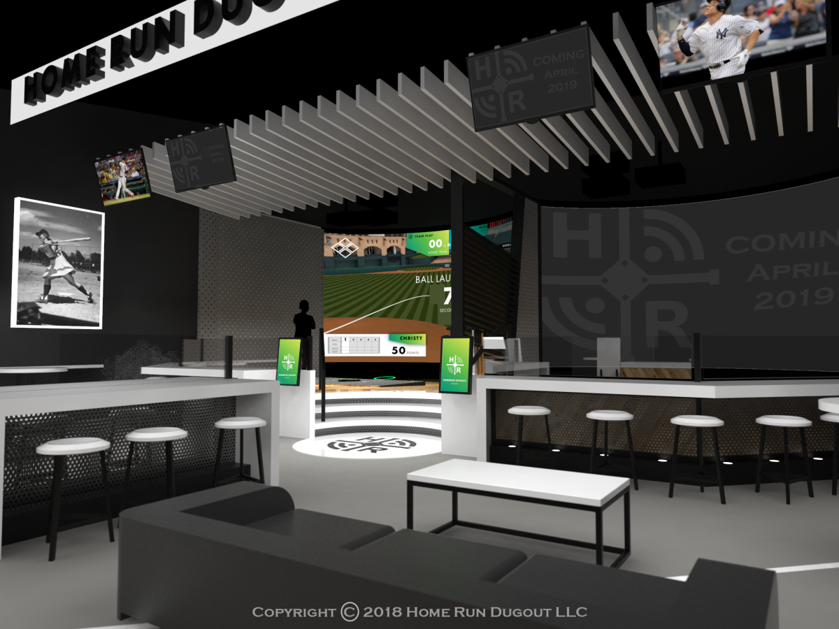 Home Run Dugout rendering Dell diamond