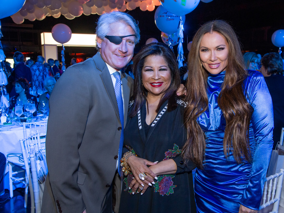 Rich Emberlin, Clarice Tinsley, LeeAnne Locken