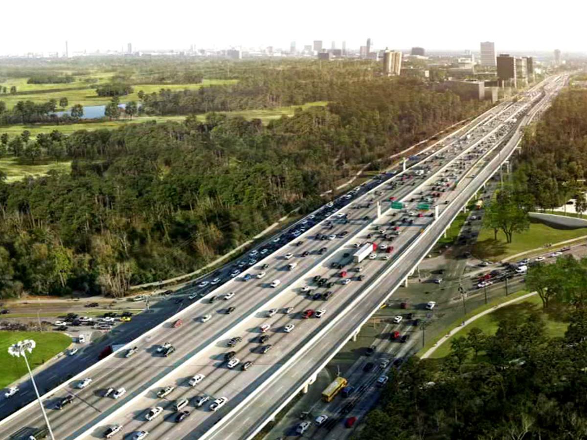 West Loop Memorial Frontage Woodway Houston