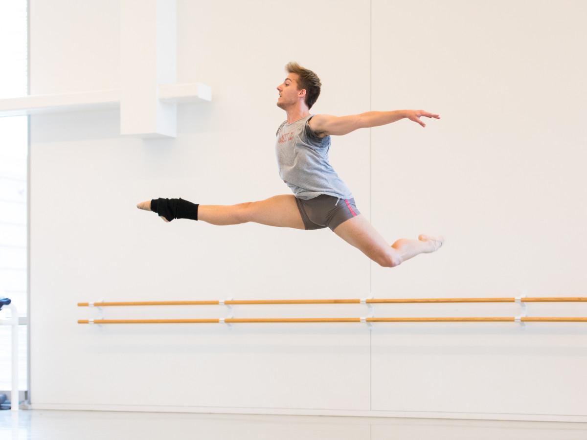 Houston Ballet: Premieres, soloist Hayden Stark