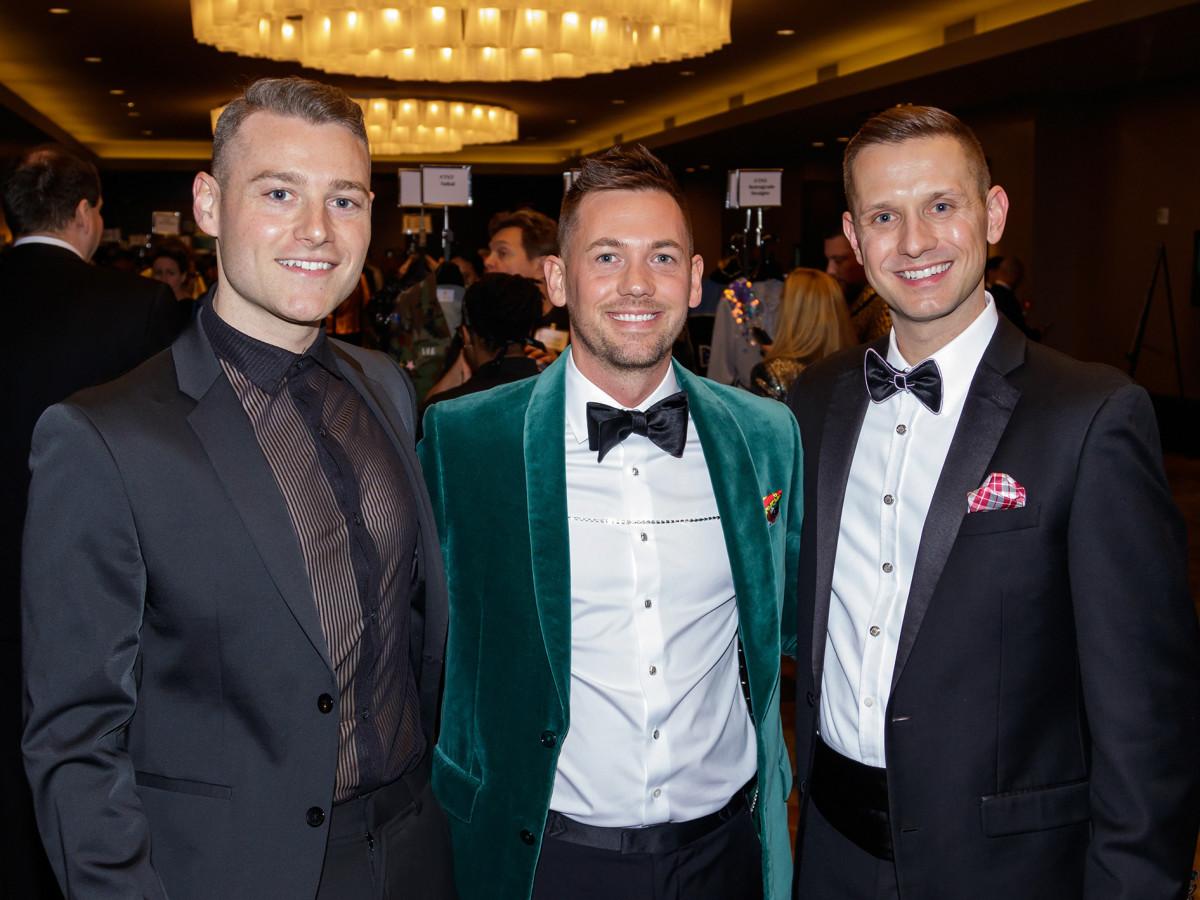 Miles Griffin, Andrew White, Justin Bundick