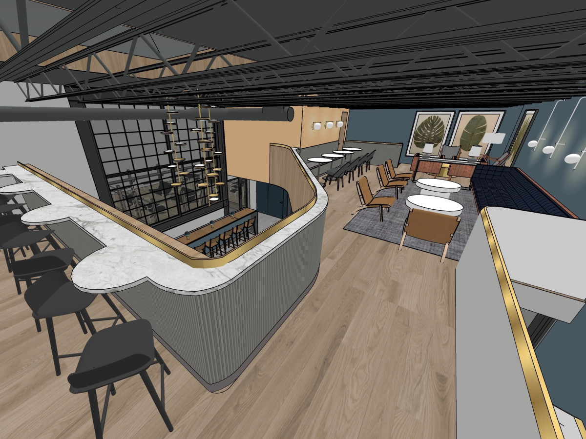 Penny Quarter upstairs rendering