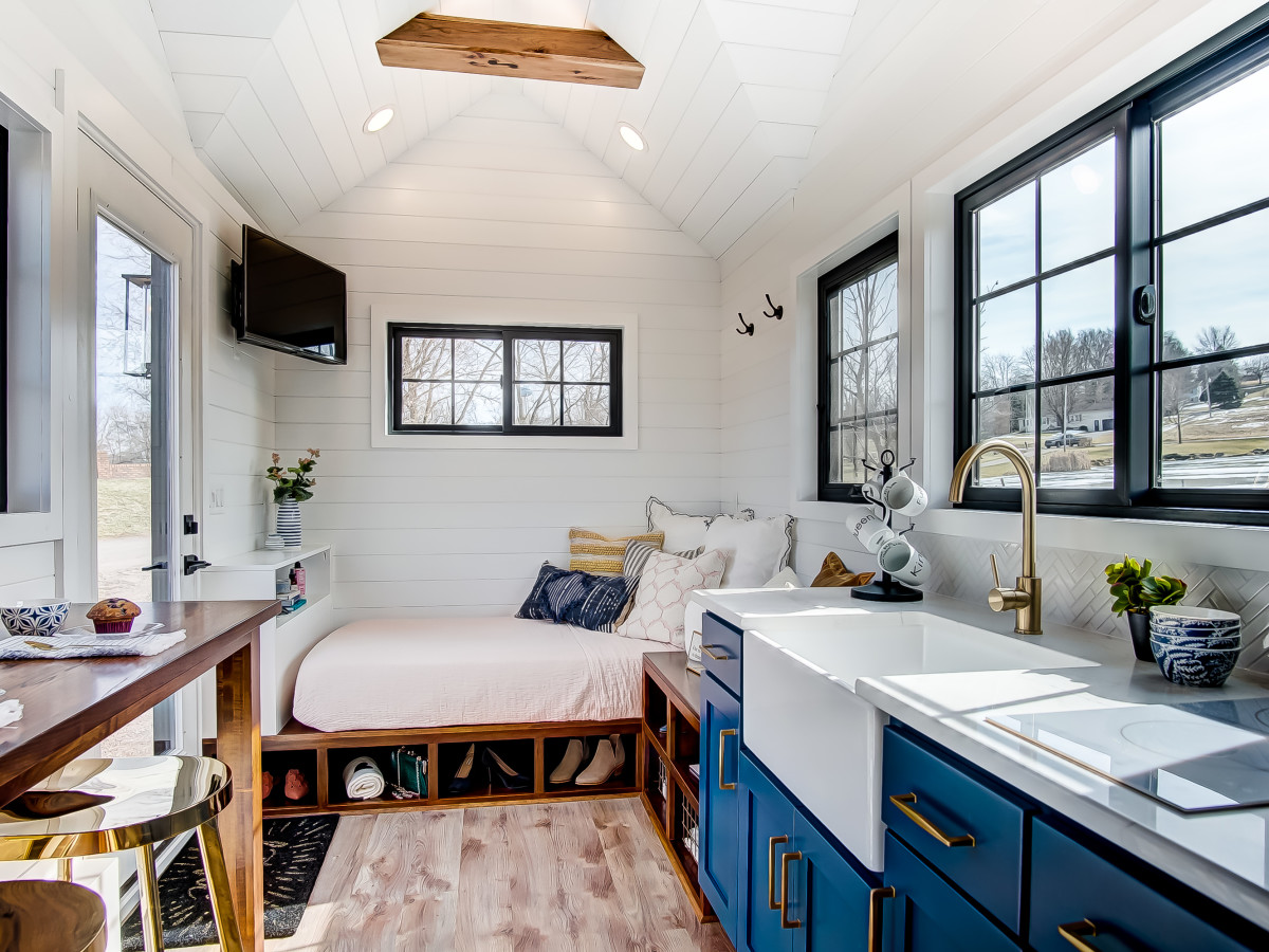 New Tiny Home Village Opens Big Doors To Small Living North