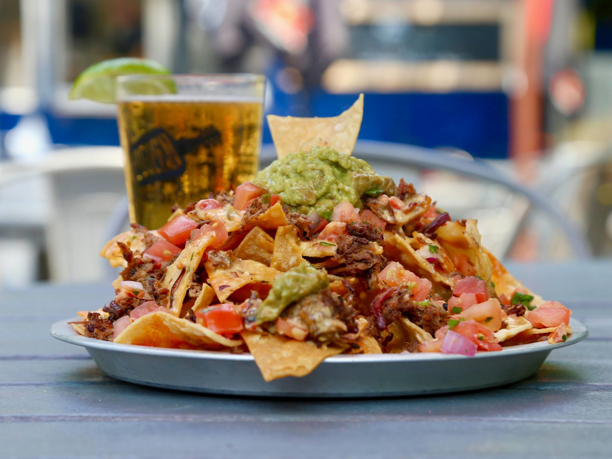 The Pigpen San Antonio nachos