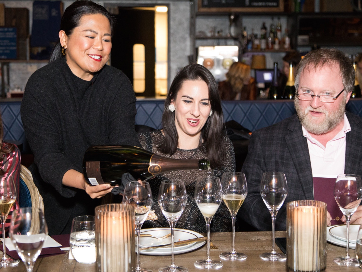 Krug Dinner Goodnight Charlie's June Rodil Emily Tolbert Christian Clark