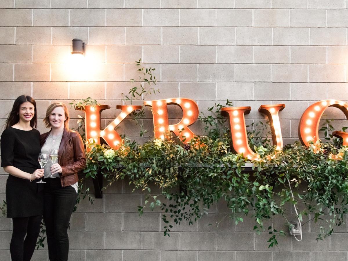 Krug Dinner Goodnight Charlie's sign