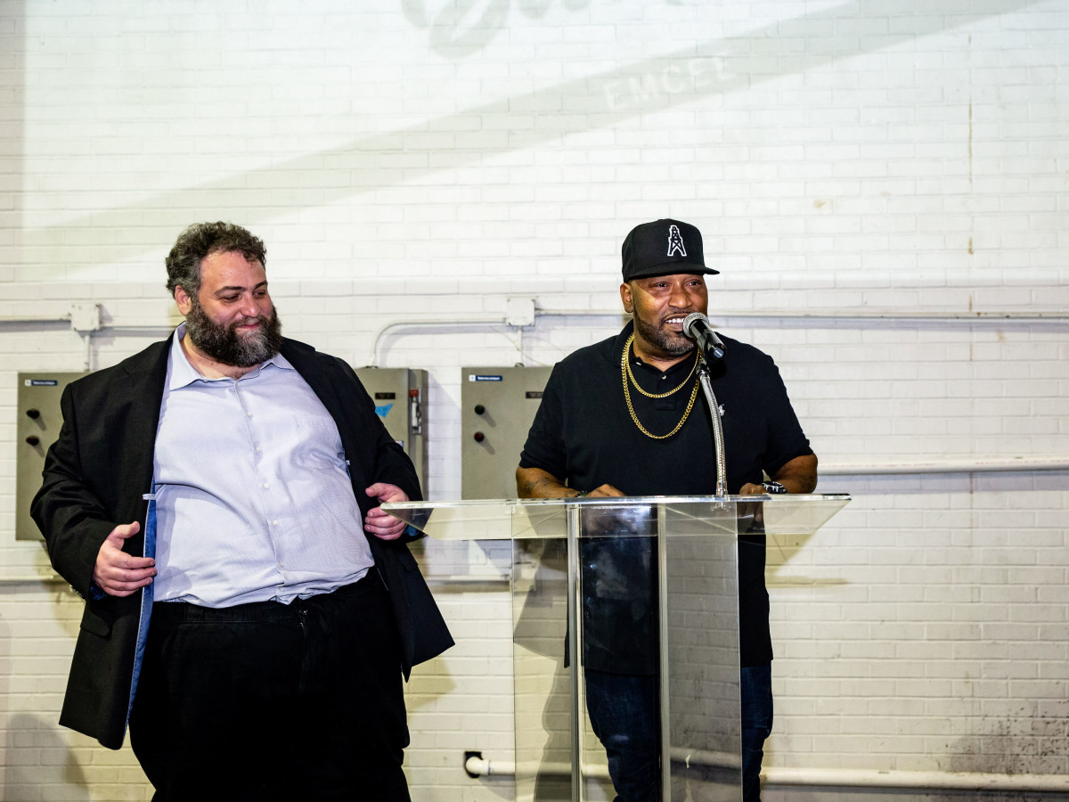 Tastemaker Awards 2019 Eric Sandler and Bun B