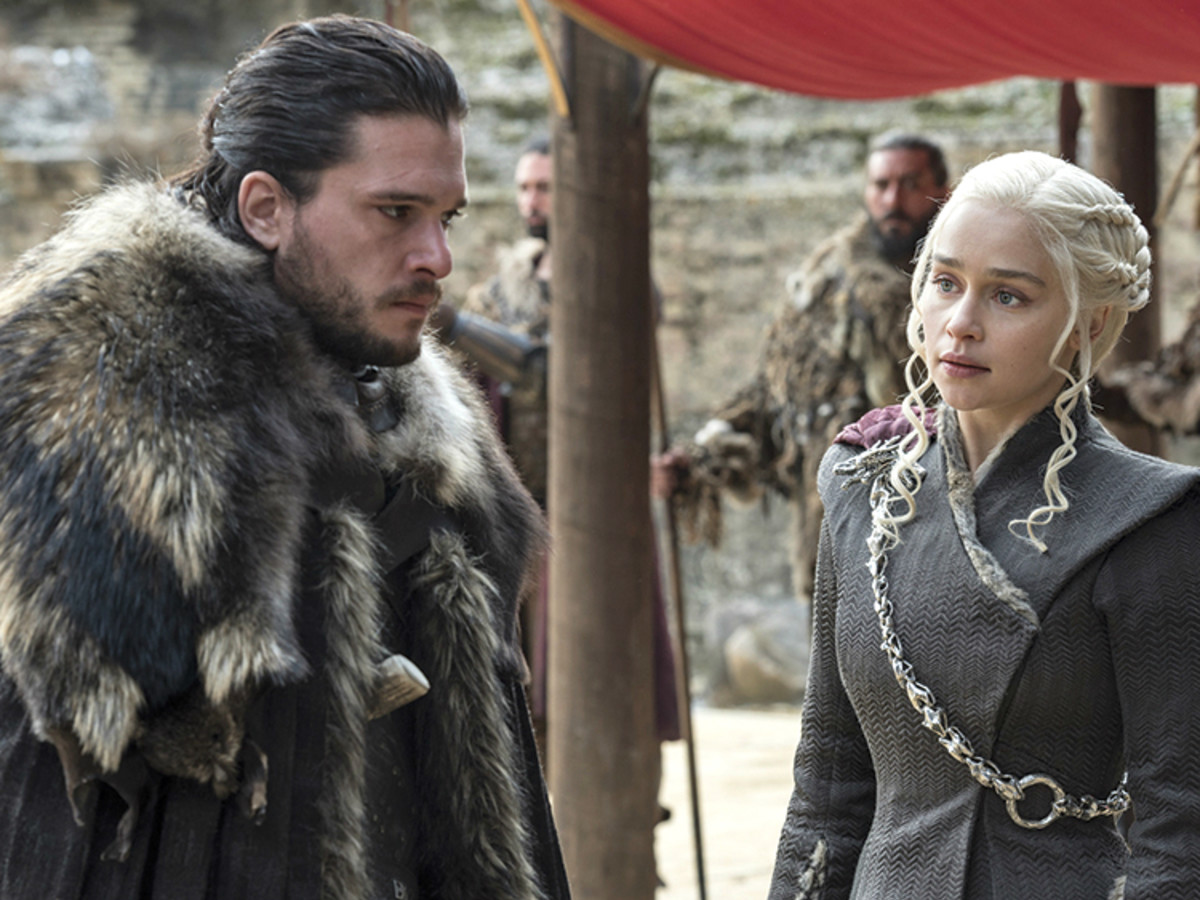 Game of Thrones Jon Snow Daenerys
