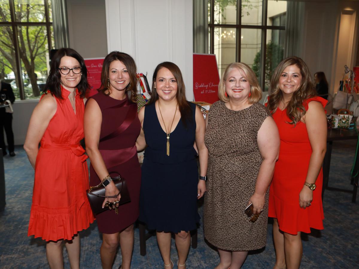 Stacey Haggard, Mandy Lu Ristow, Cindy Goodman, Julie Siegel, Jeannette Almanza