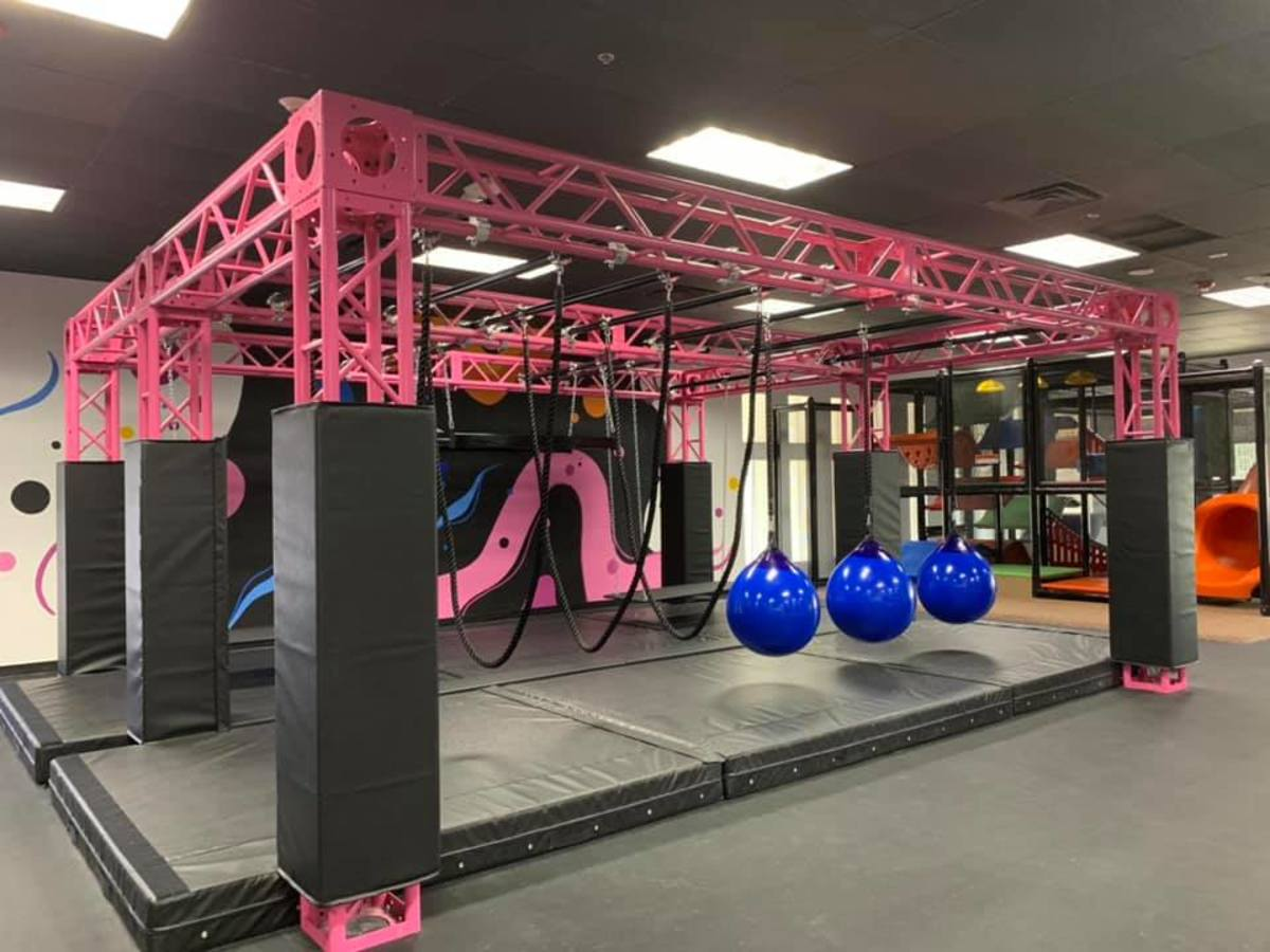 House of Air ninja course