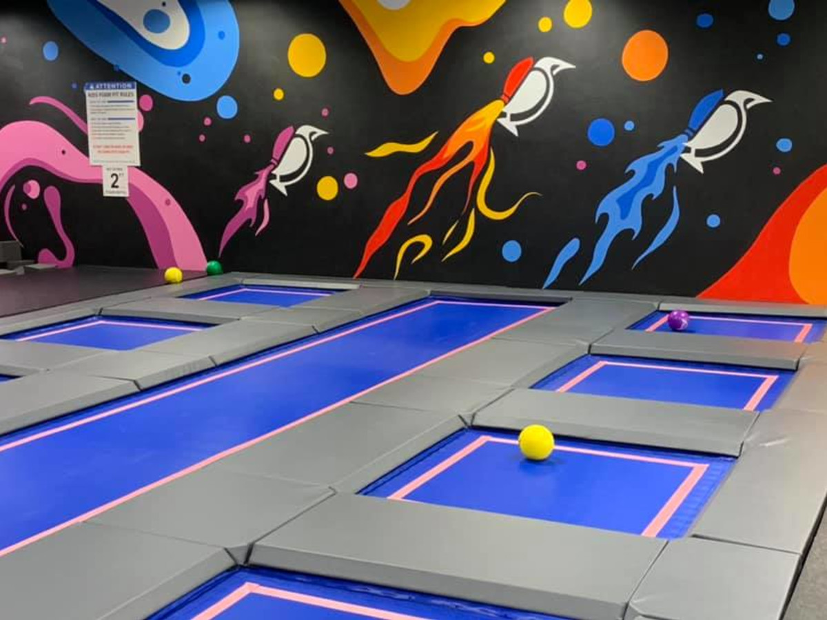 House of Air Trampoline matrix