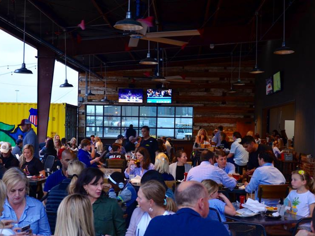 Rogers Roundhouse patio