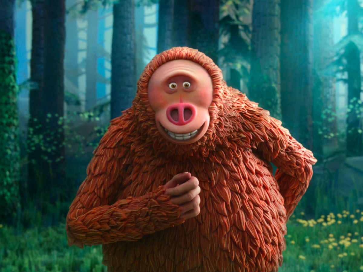 Link (Zach Galifianakis) in Missing Link