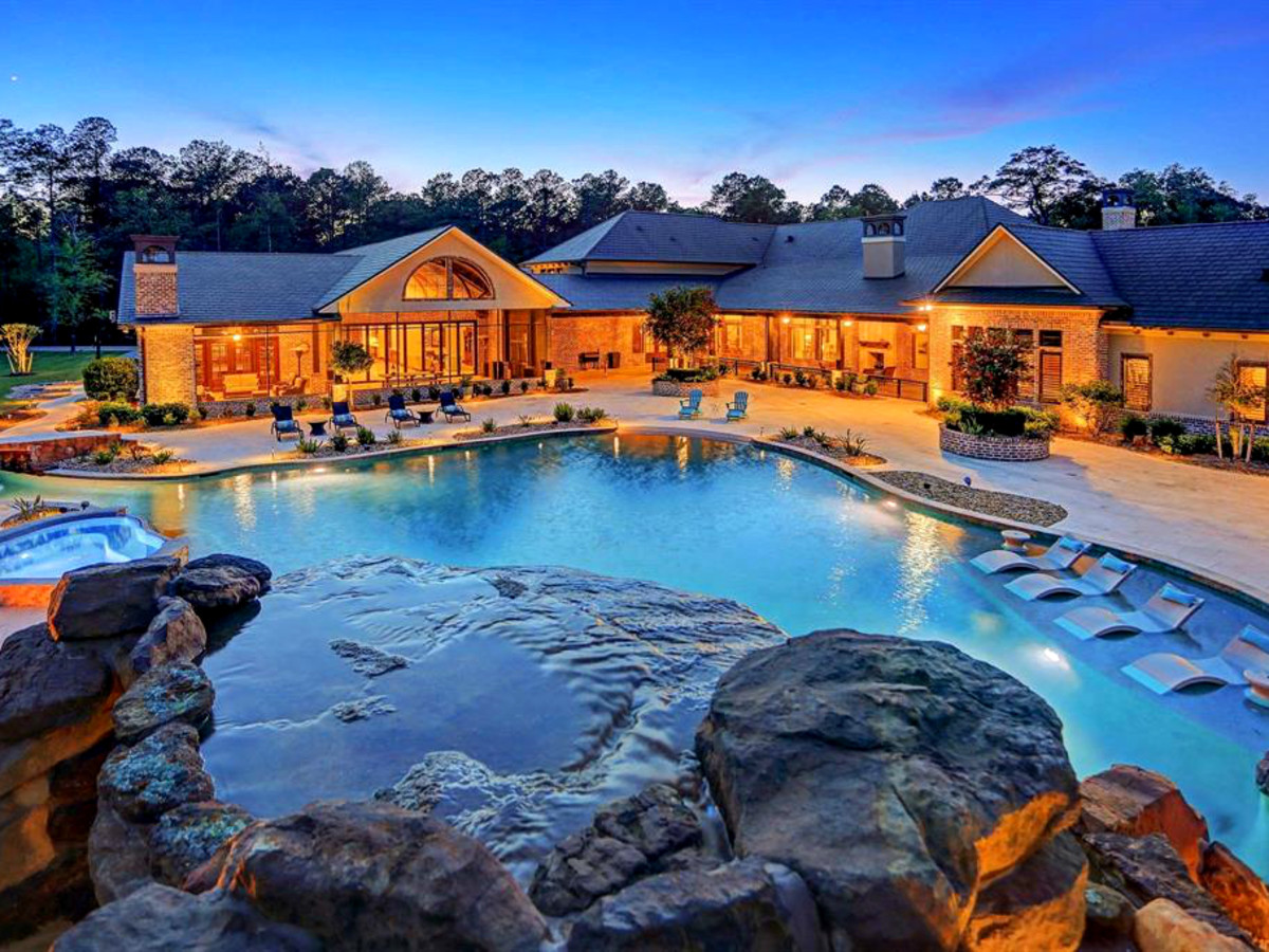 Crosby lazy river home