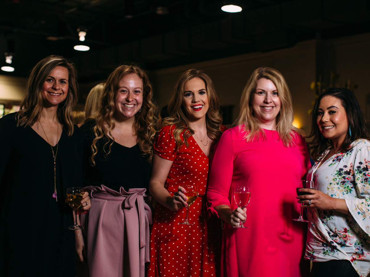 Shelby Shah, Holly Vogel, Amber Wax, Renee Gately, Bess Grant