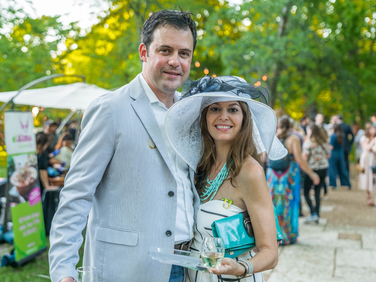 Umlauf Garden Party 2019 Patrick Johnson Cortney Johnson