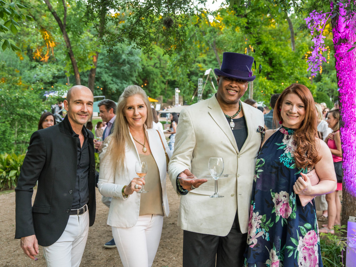 Umlauf Garden Party 2019 Jerome Long Janeen Long William Jackson Sarah Saxon