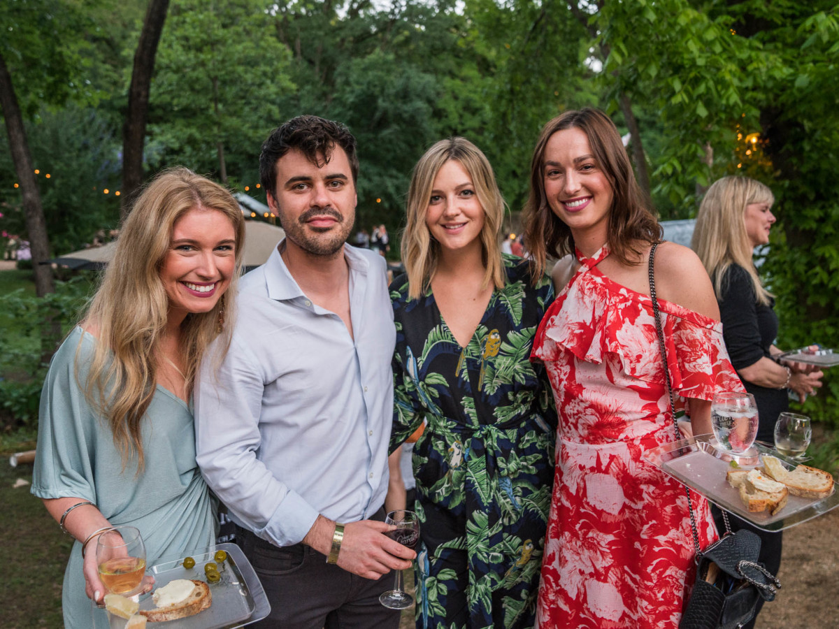 Umlauf Garden Party 2019 Ally Smith Carter Sackman Laura Arnold Hayley Cole
