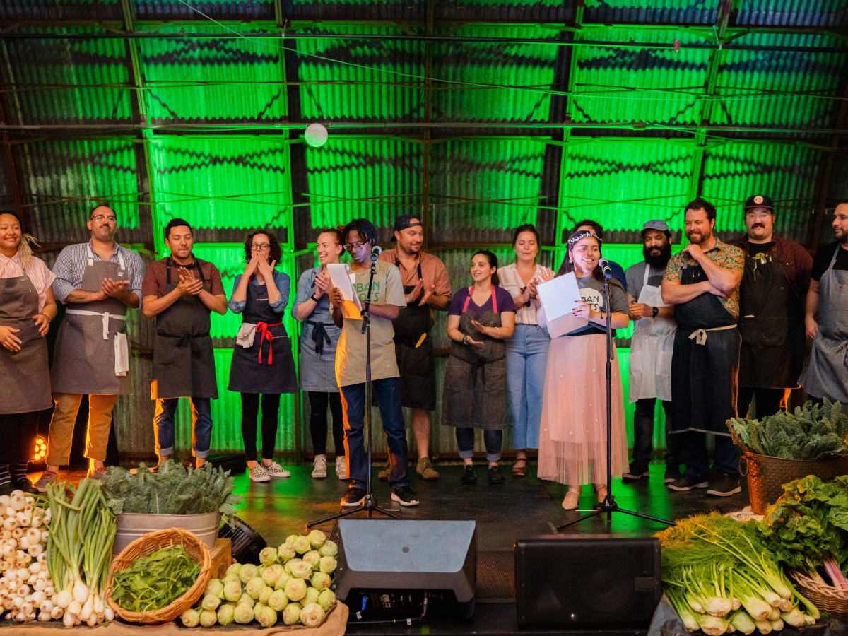 Urban Roots Tour de Farm dinner 2019