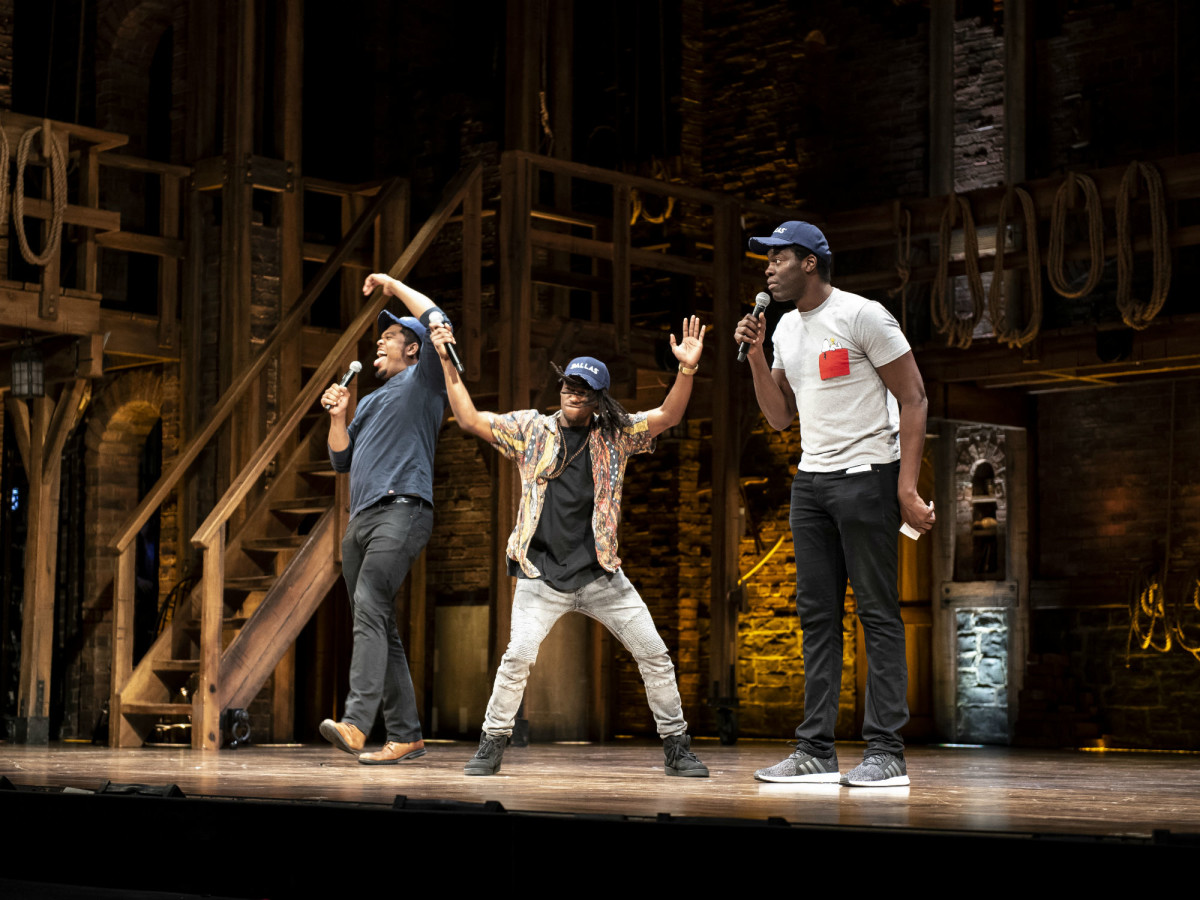 Fergie L. Phillippe, Elijah Malcomb, and Kyle Scatliffe at EduHam
