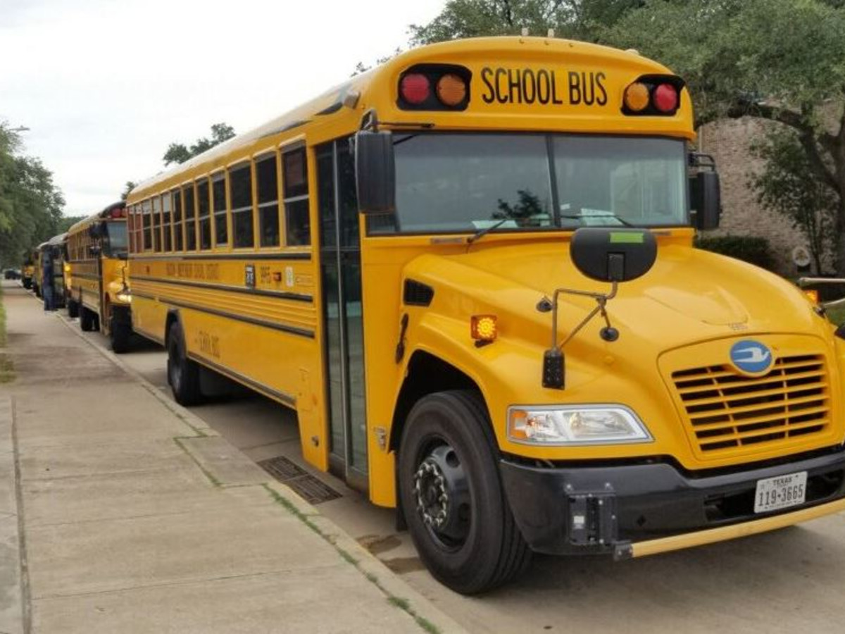 Houston ISD school bus