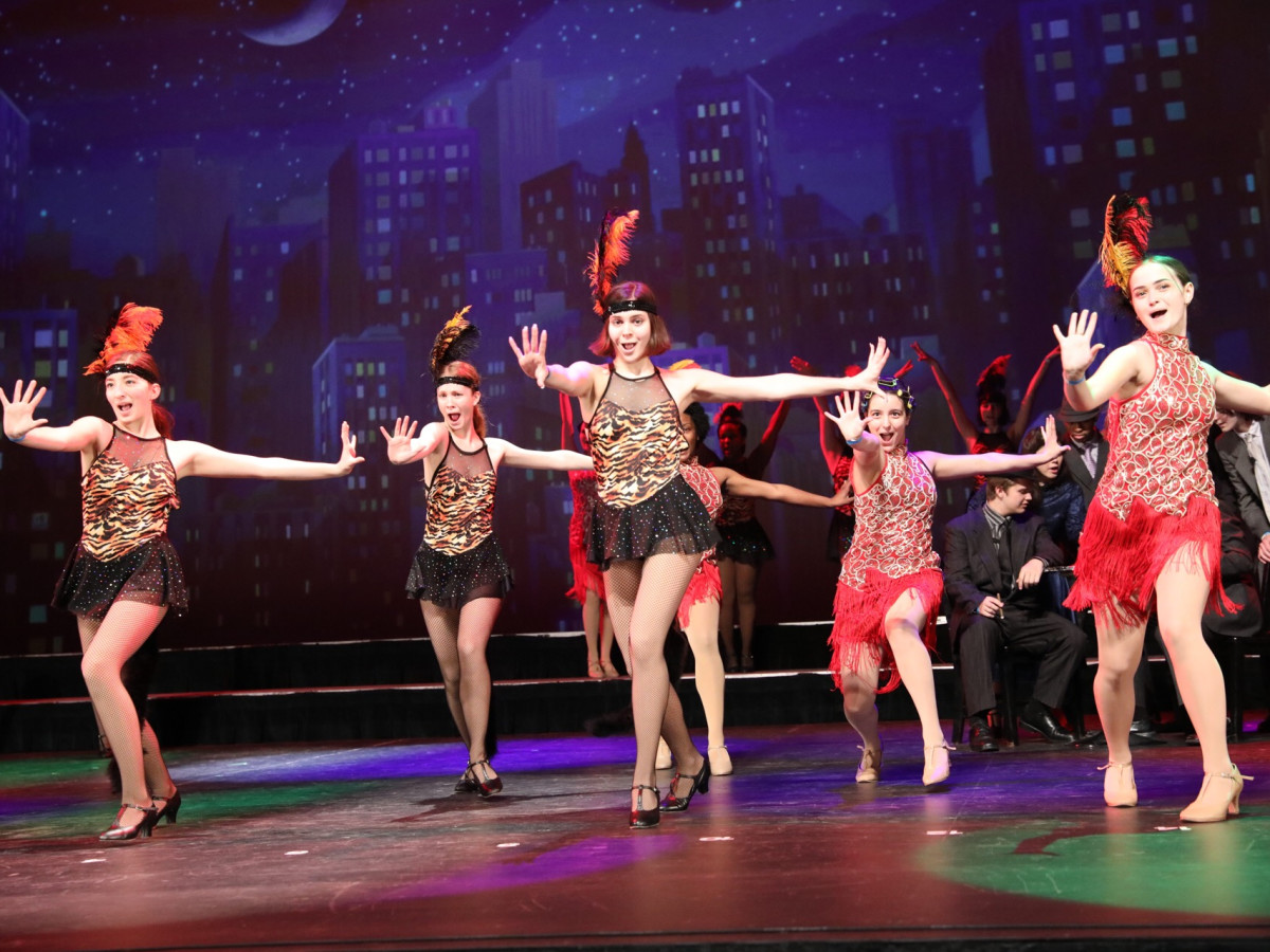 Grand Prairie Fine Arts Academy, Bullets Over Broadway