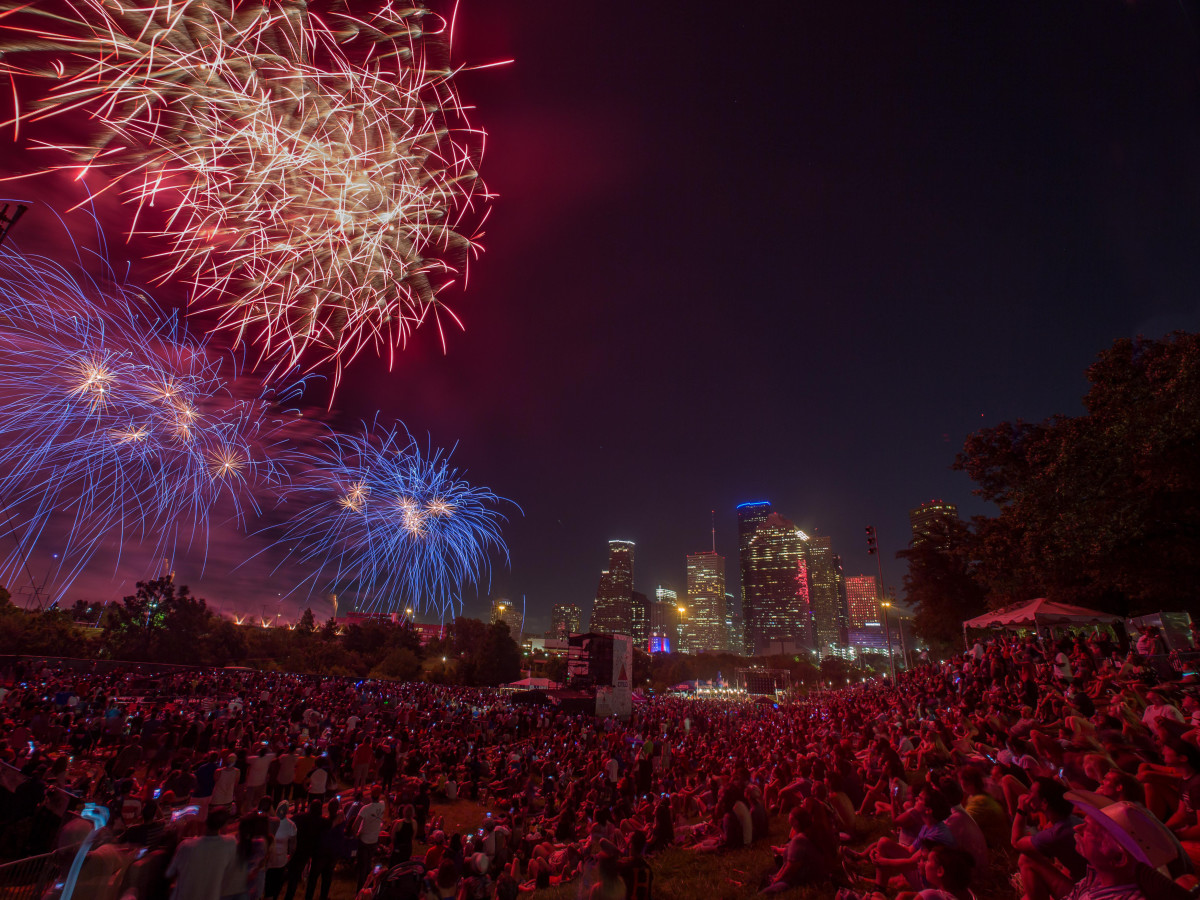 Freedom Over Texas Houston fireworks