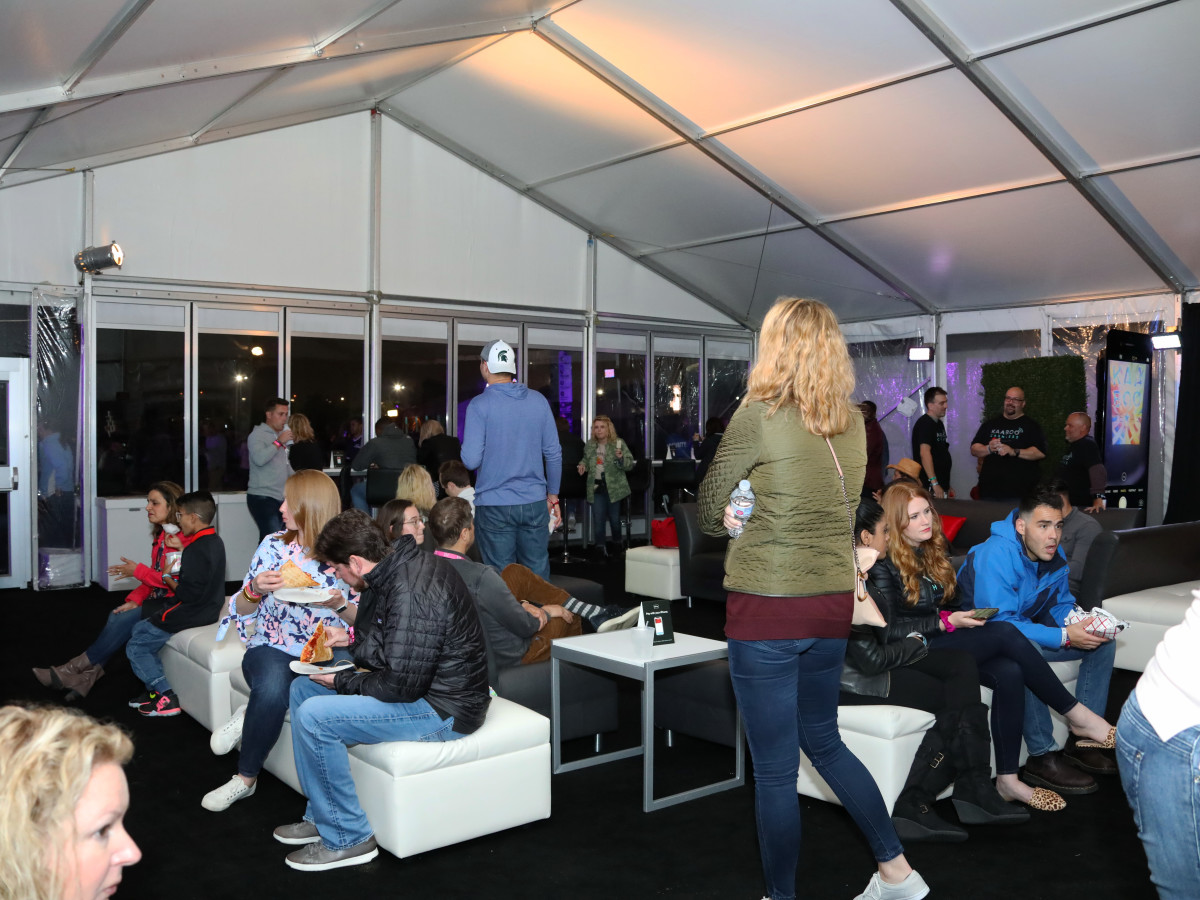 Bank of America lounge at Kaaboo Texas
