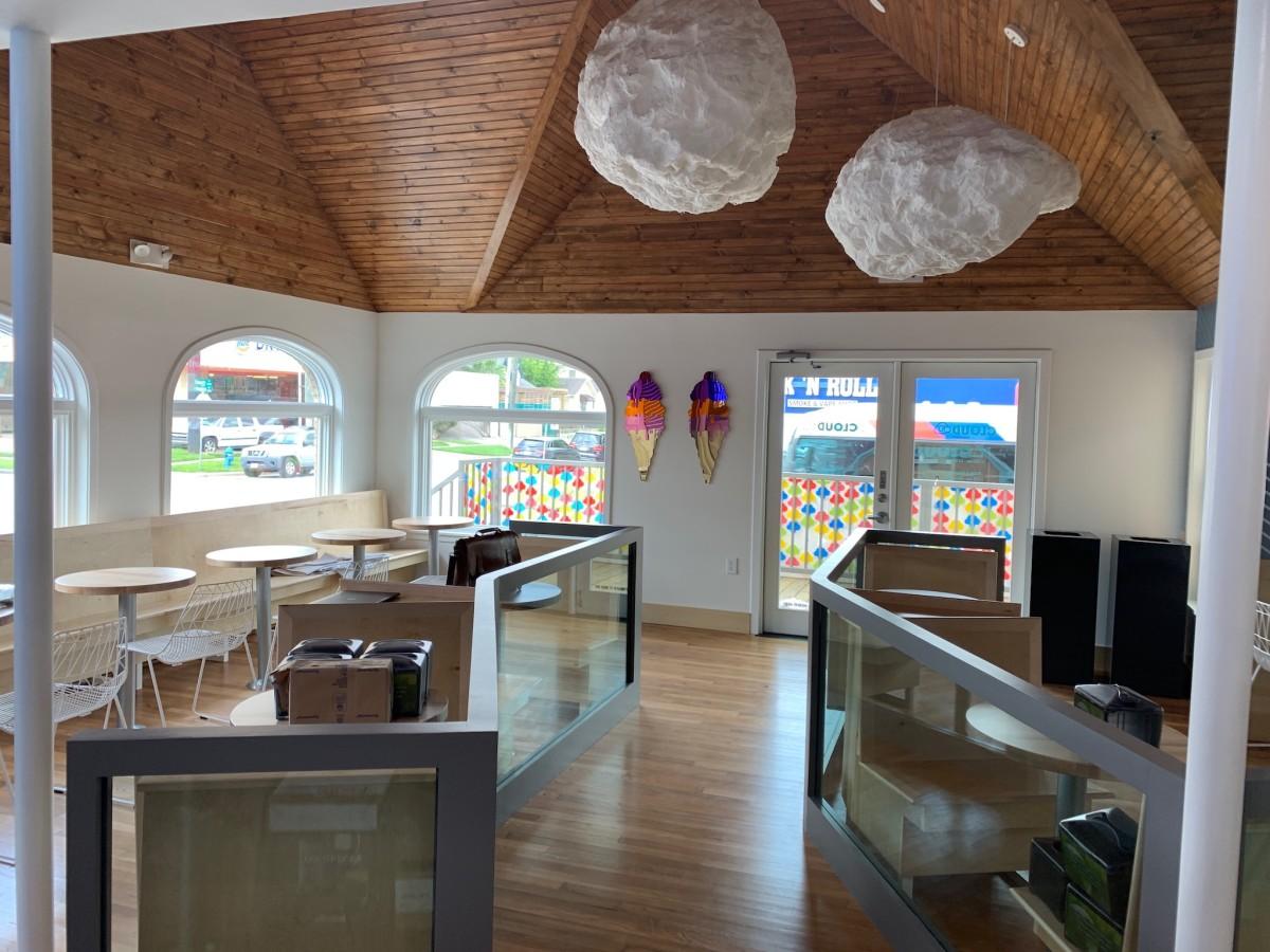 Cloud 10 Creamery Montrose interior