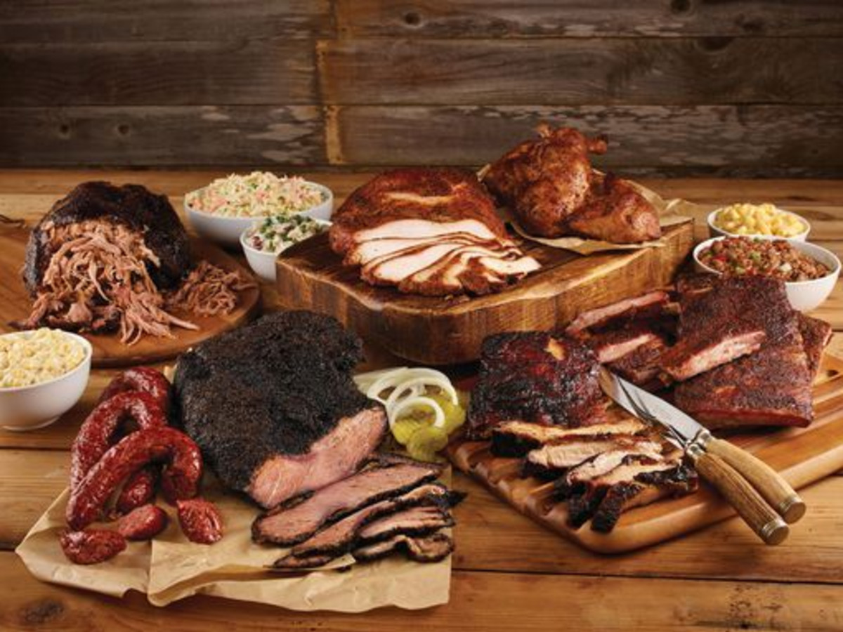 True Texas BBQ barbecue spread