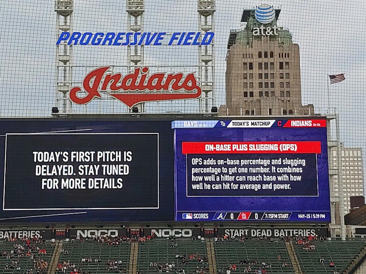 Ken Hoffman Cleveland Indians delay game
