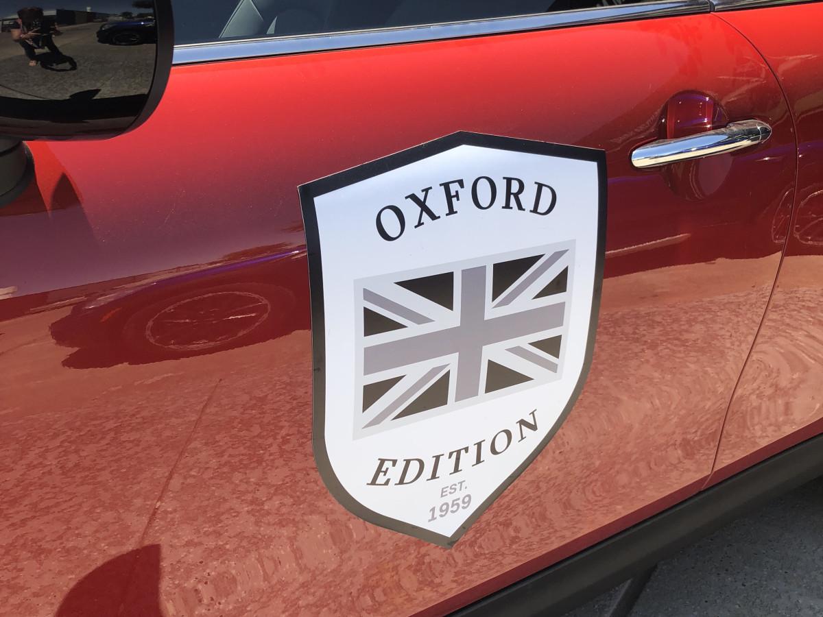 Mini Cooper Oxford Edition