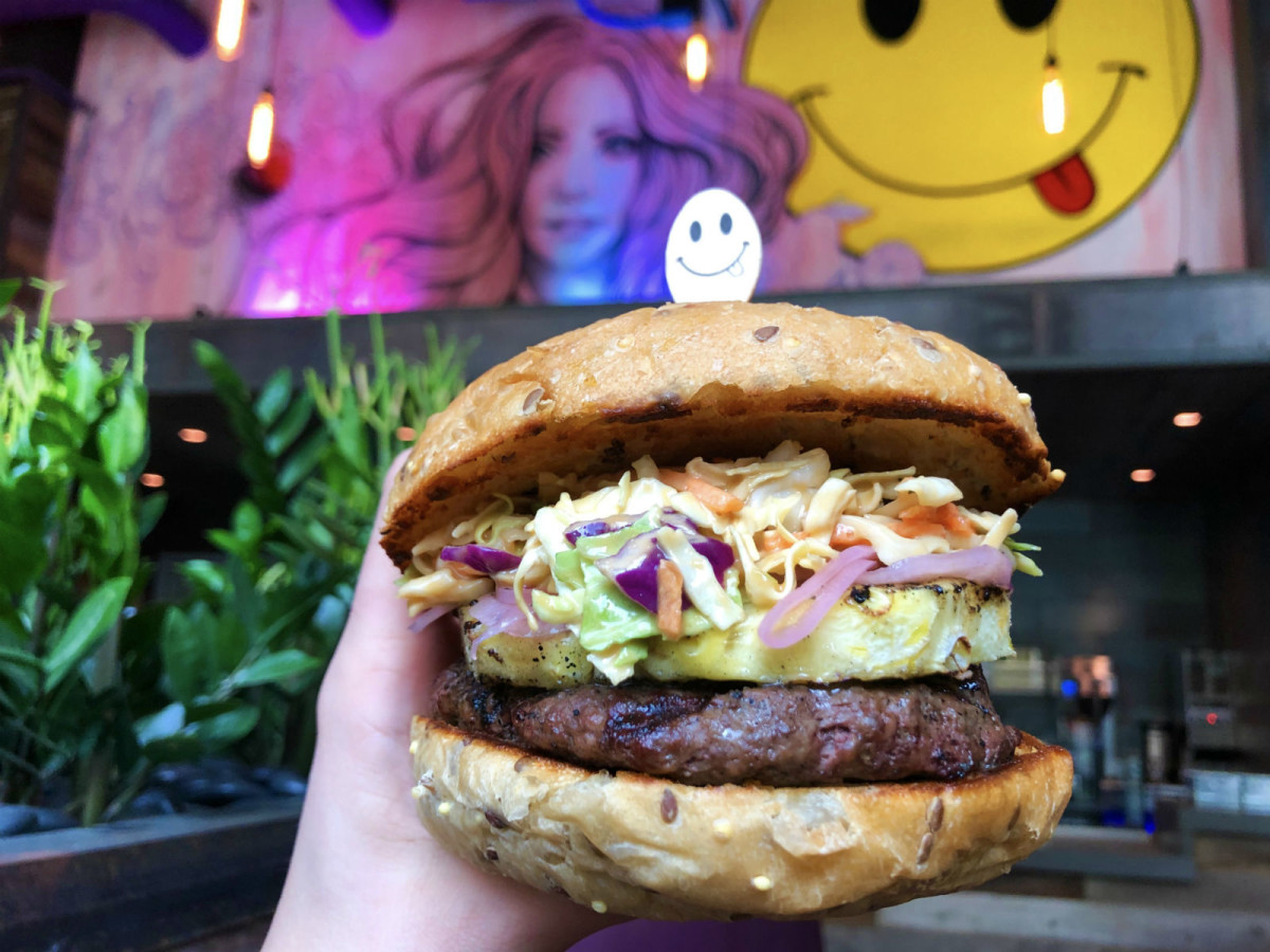 Skinny Fats burger