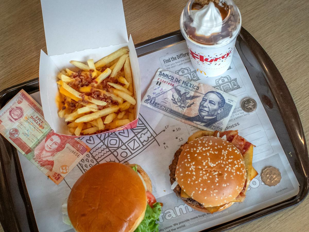 McDonald's Worldwide Favorites assortment