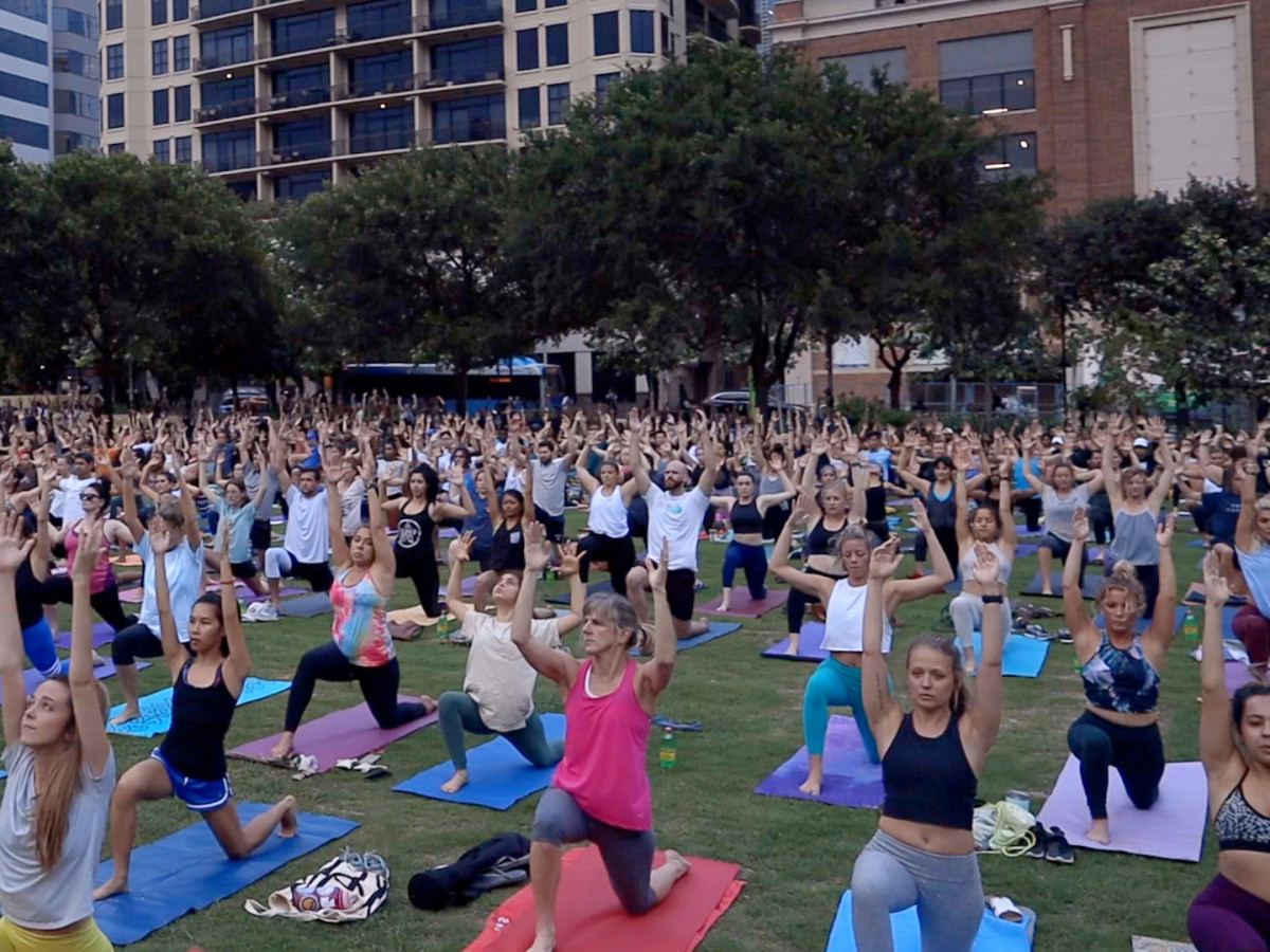 Frost Austin Wanderlust yoga pop-up