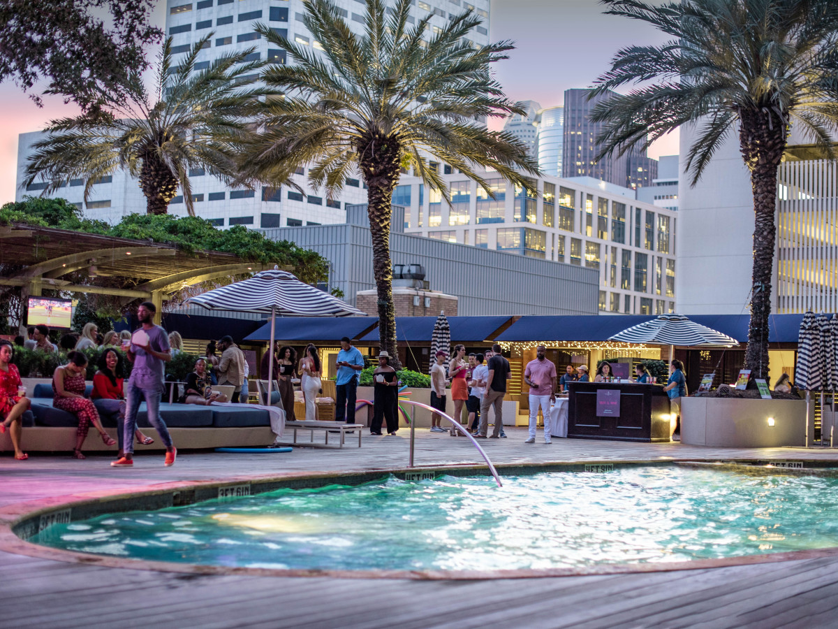 Pool deck summer music series