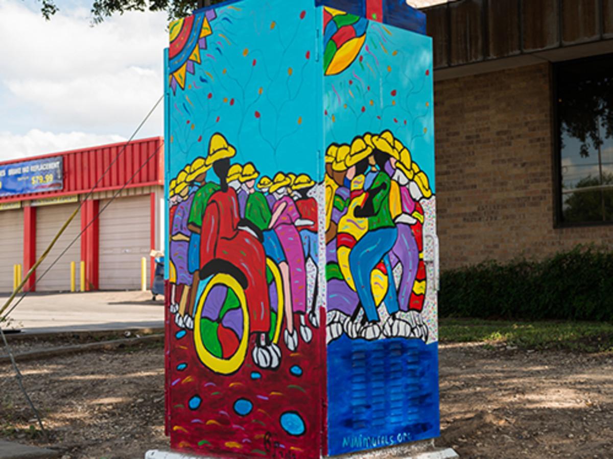 Mini mural lamar runderberg bydee